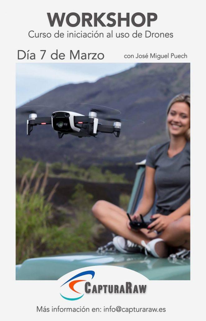 curso iniciacion al uso de drones