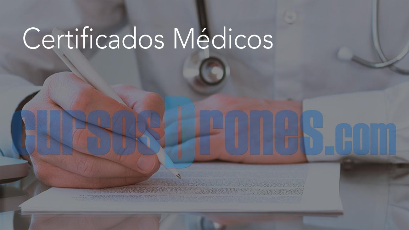 certificados médicos cursosdrones