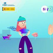 AESA-presenta-vídeo-informativo-sobre-el-uso-lúdico-de-los-drones-