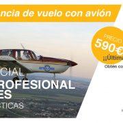 curso oficial con experiencia de vuelo