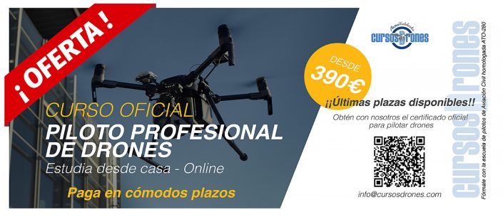 curso oficial drone 590€